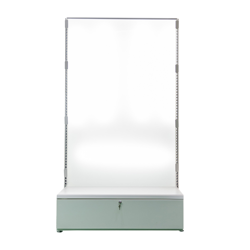 Waston acrylic back panel shelf